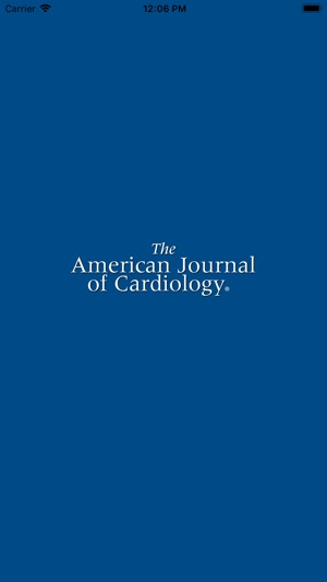 American Journal of Cardiology on the App Store