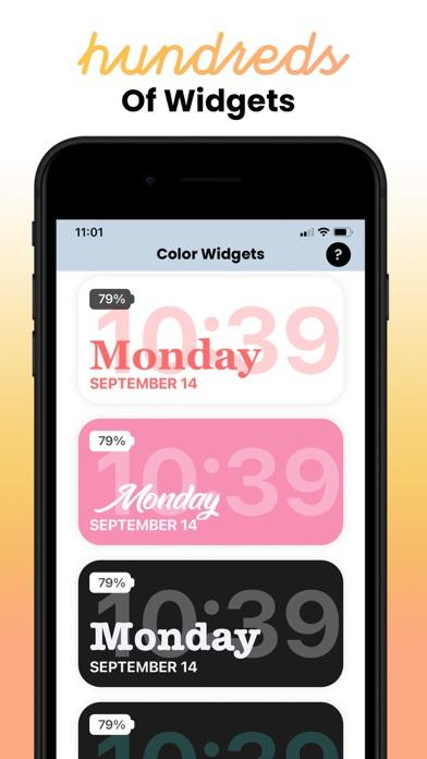 Color Widgetsのおすすめ画像4