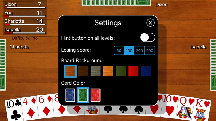 Hearts Card Classic screenshot-7