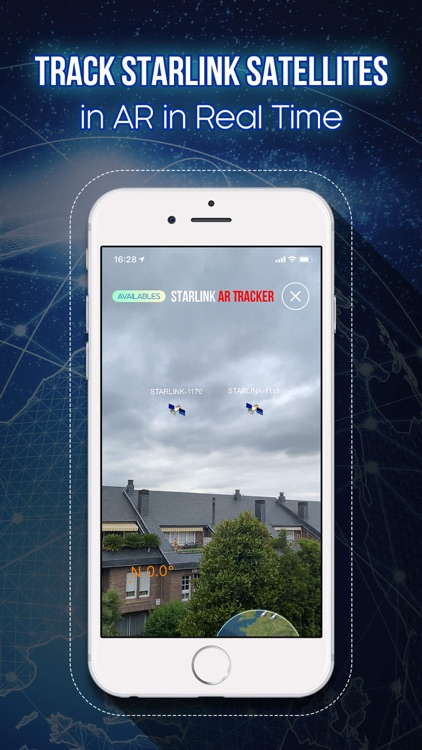 Starlink Satellite AR Tracker screenshot-0