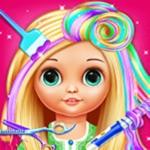 Little Girls Doll Hair Salon