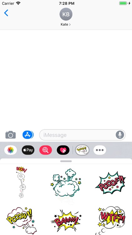 Simply Texts Stickers Pack screenshot-4