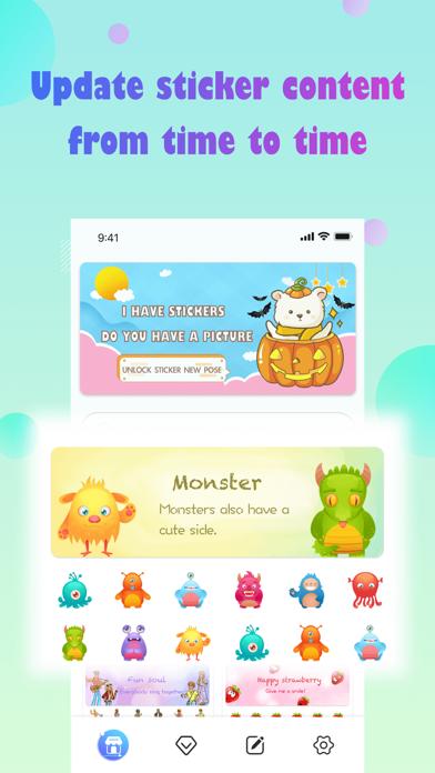 Bucket Stickers Screenshot