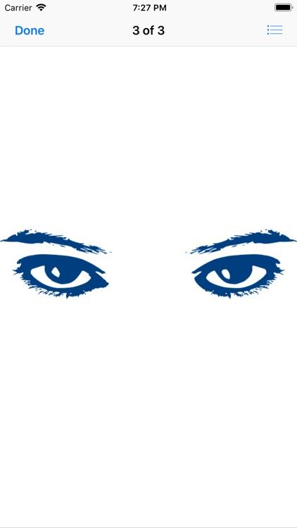 Shapely Eyebrow Stickers screenshot-3