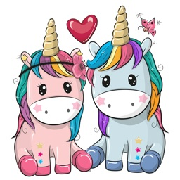 Unicorn Sweet Stickers Pack