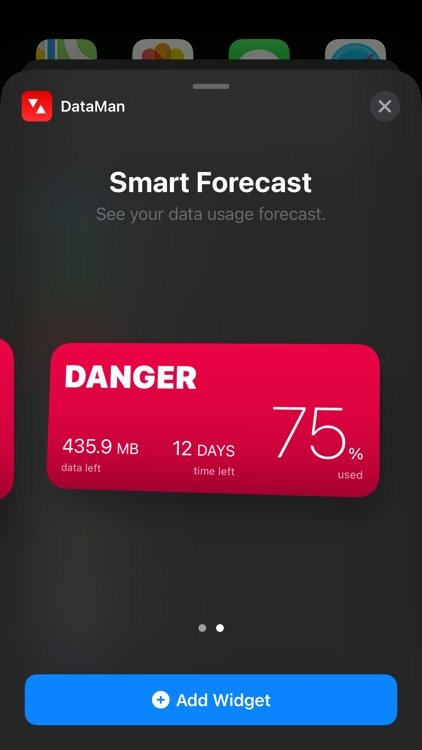 DataMan - Data Usage Widget screenshot-0