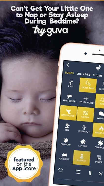 Baby Sleep Sounds  - Guva Plus screenshot-0