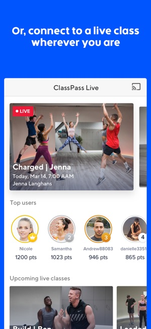 Classpass On The App Store
