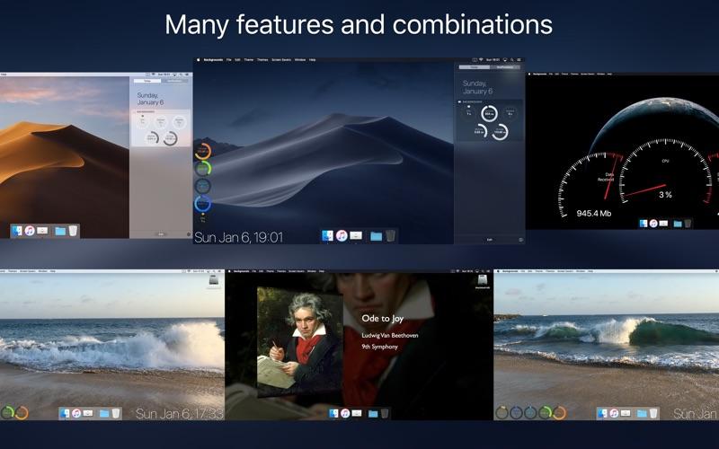 Backgrounds Screenshots