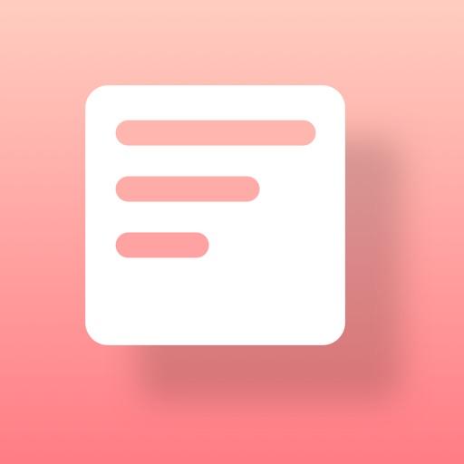 Widget Memo - ウィジェットにメモを設置 -
