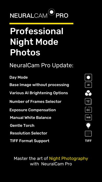 NeuralCam Pro NightMode Camera Screenshots