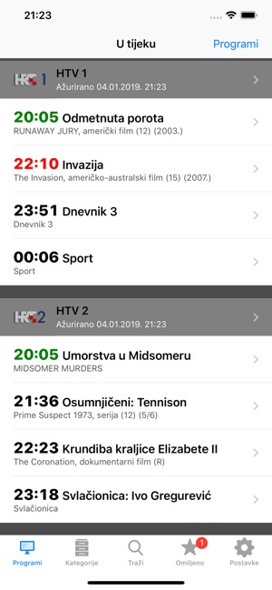 ‎Croatian TV+