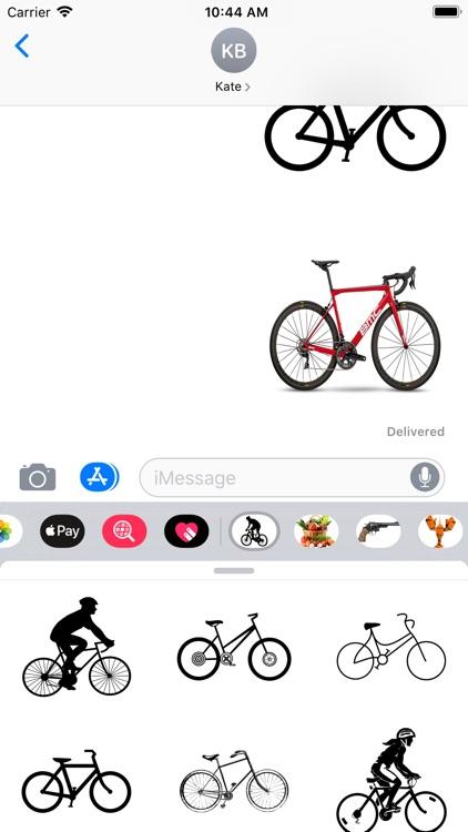 Bikes Set Stickers