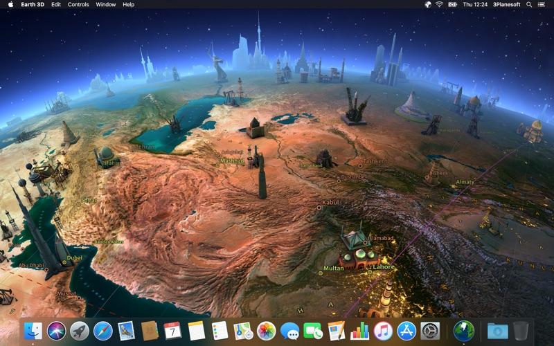 Screenshot #4 for Earth 3D