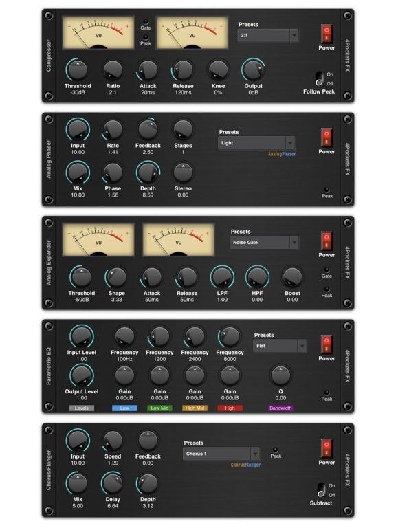 Shimmer AUv3 Audio Plugin screenshot 12