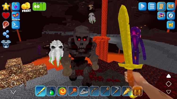 PrimalСraft 3D: Block Building screenshot-3