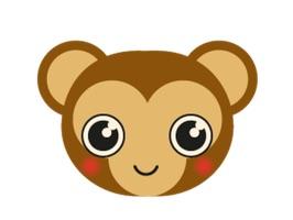 Monkey BaBy Lovely Sticker is pretty
