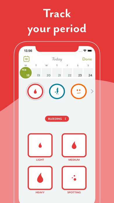 Clue Period Tracker, Ovulation app image