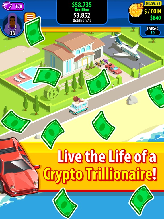 Screenshot #4 for Crypto Trillionaire