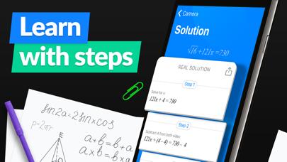 SnapCalc - Math Problem Solver Screenshot