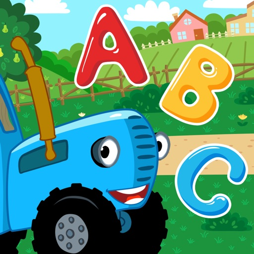 Blue Tractor: Funny Learning