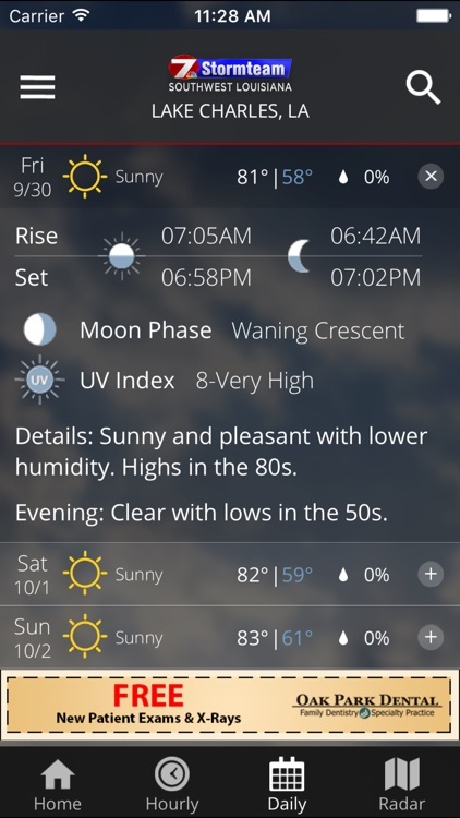 KPLC 7 First Alert Weather screenshot-3