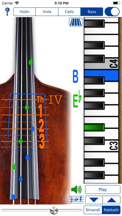 Fingering Strings for iPhone screenshot-4