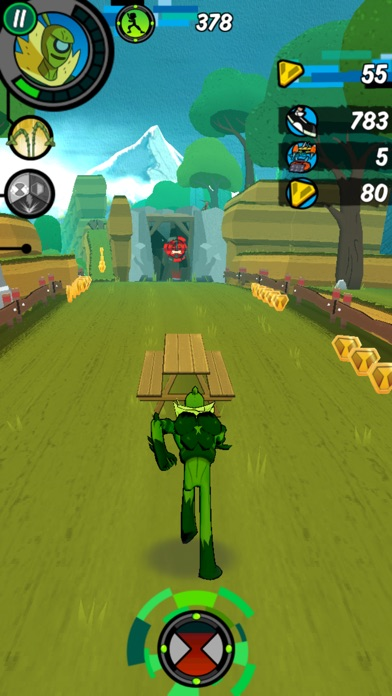 Screenshot for Ben 10 - Velocidade Total in Portugal App Store