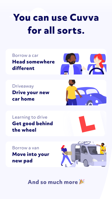 Cuvva - On-Demand Hourly Car Insurance screenshot