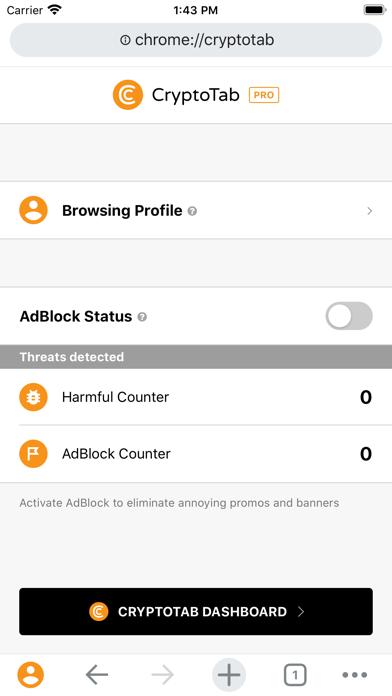 CryptoTab Browser Pro screenshot 7