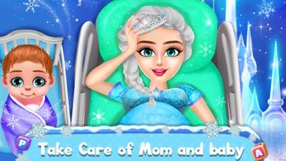 جليد أمي & طفل رعاية نهارية لعلقطة شاشة1