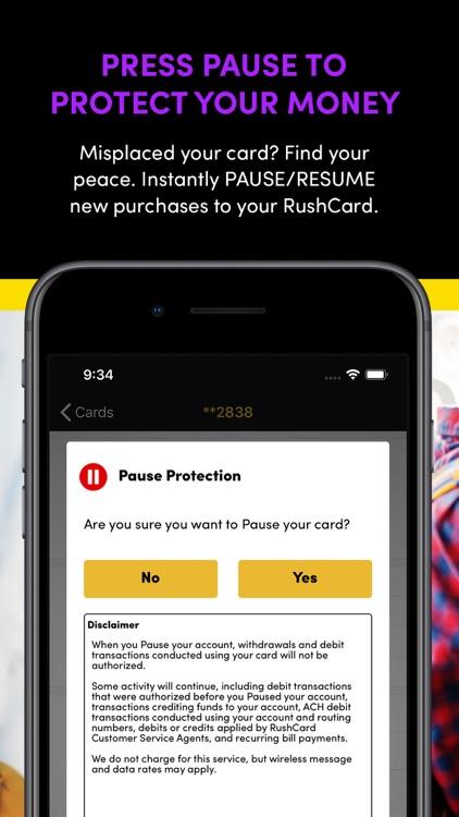 RushCard screenshot-3