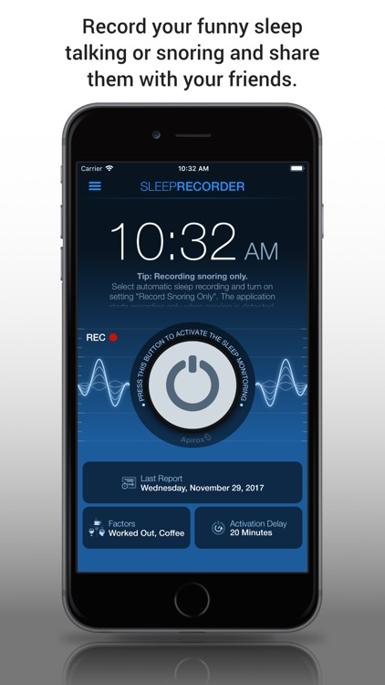 Prime Sleep Recorder Pro screenshot-0