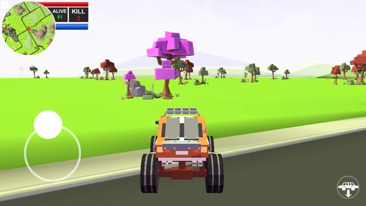 Pixels battle royale screenshot-9