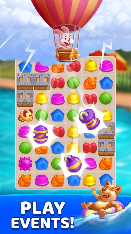 PET FEVER BLAST: Match 3 Games screenshot-5