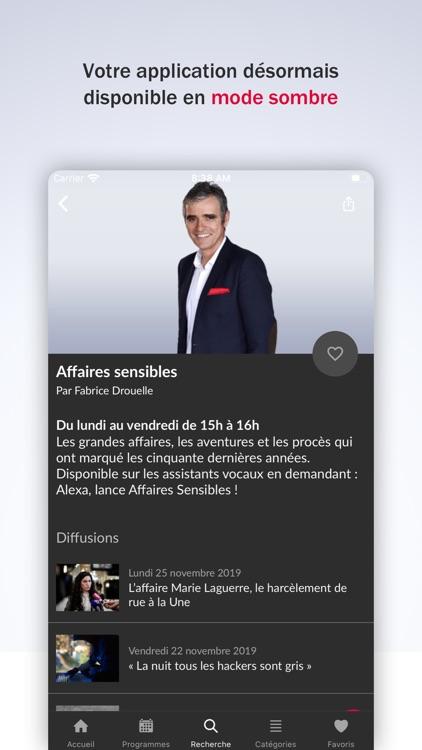 France Inter - radio, podcasts