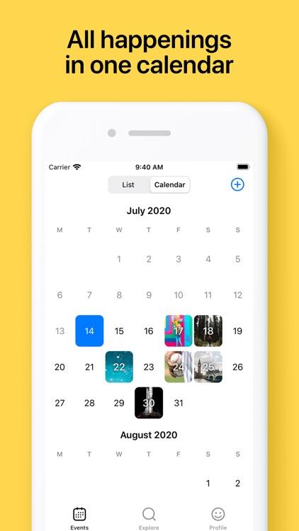 Horizon: Countdown Calendar screenshot-3