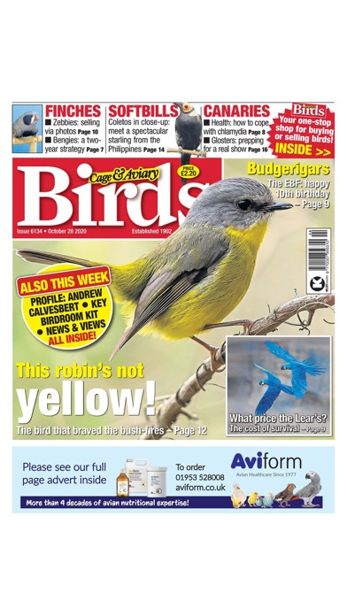 Cage & Aviary Birds screenshot1
