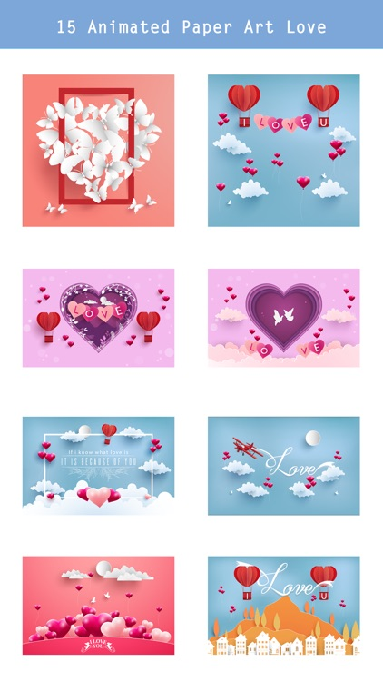 Valentine's Day Set - Animated screenshot-1