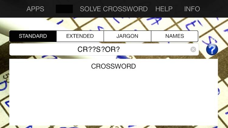 Crossword Solver Silver
