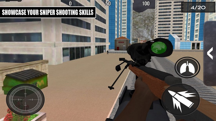 Sniper Destroy Terrorism City