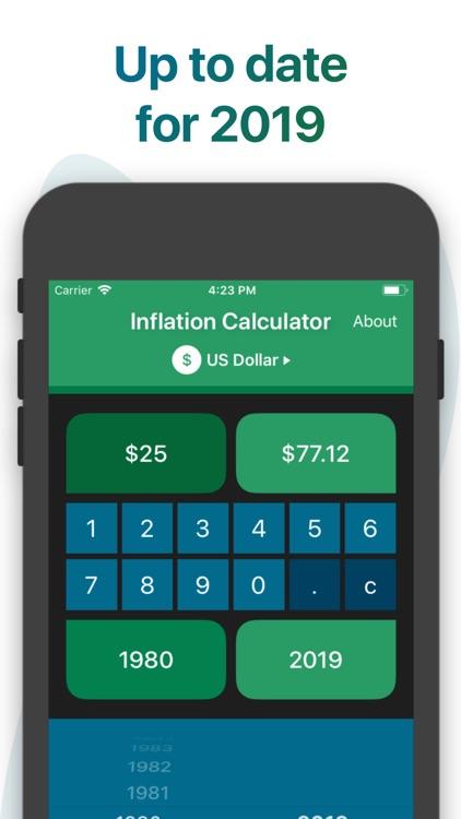 Inflation Calculator screenshot-3