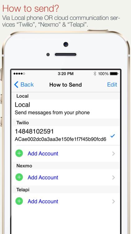 SA Group Text Lite screenshot-3