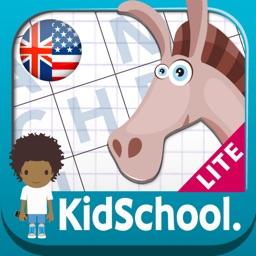 Kidschool : my first criss-cross puzzle LITE