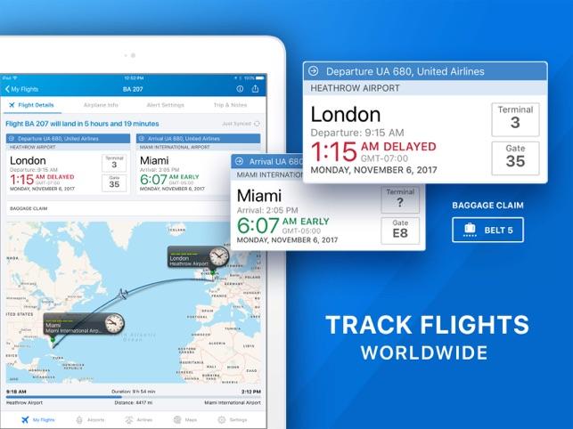 the the Pro Flight Flight Tracker