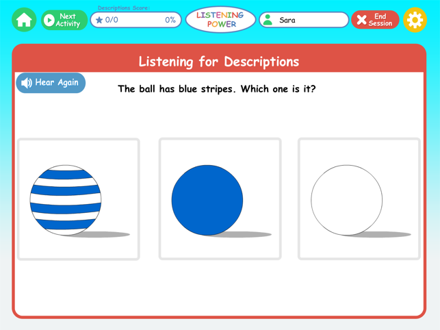 ‎Listening Power Preschool Lite Screenshot