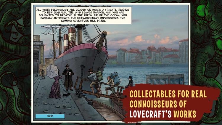 Lovecraft Quest - A Comix Game screenshot-6