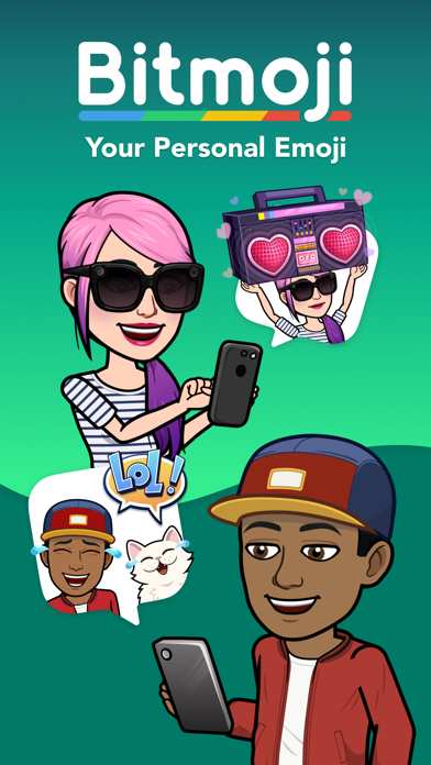 messages.download Bitmoji software
