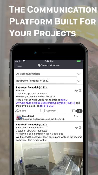 cancel Status Recap Project Platform app subscription image 1