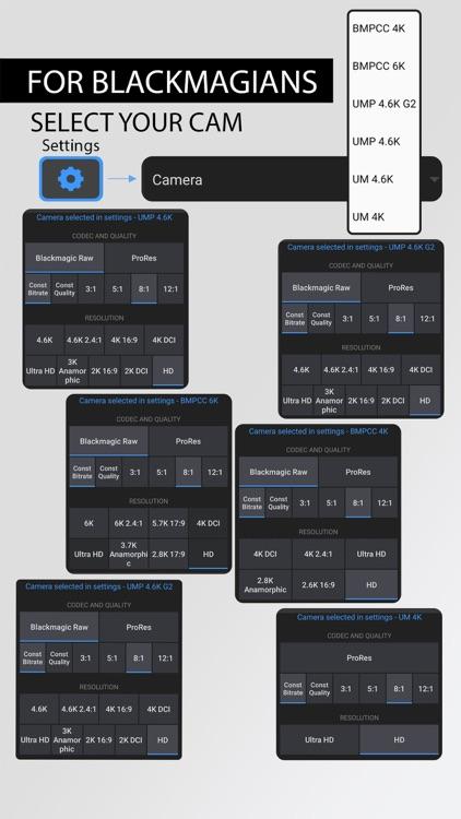 Blackmagic Camera Controller screenshot-5